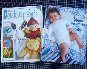 Set of 2 books - ideas affection for baby - my favorite toys