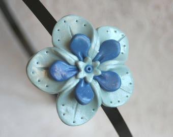 Headband big flower shaped - various colors