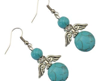 Beautiful pair of turquoise earring