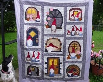 Gno Buddies applique quilt pattern