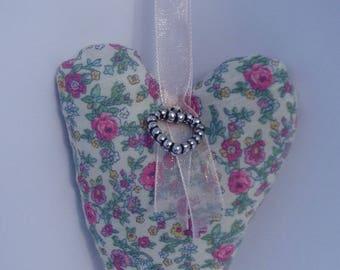 Heart liberty cotton Beige