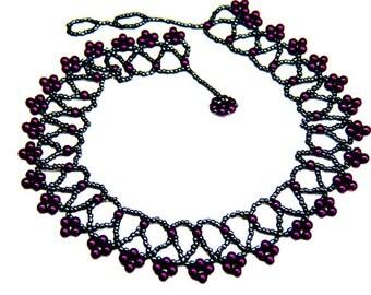 Alluring Purple Collar