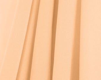 PEACH Chiffon Drapes Panels for Wedding Events & Decor- Backdrop Draping Curtains