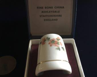 English Bone China Thimble