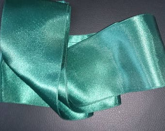 Ribbons nylon green 62 mm length 40 cm