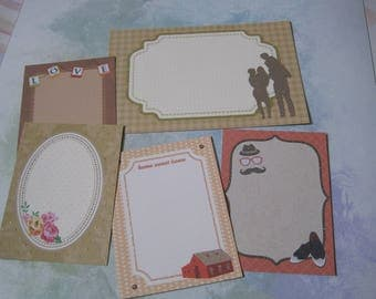 Images, embellishments, flowers, home, family, scrapbooking