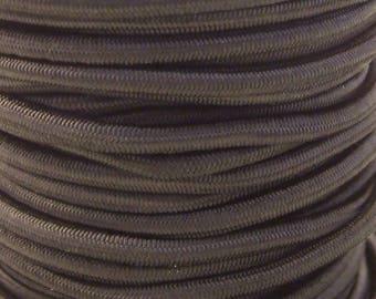 WIRE elastic 3mm black x1m