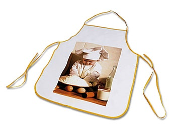 Personalized with your photo kids apron size S
