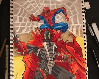 Spiderman and Spawn