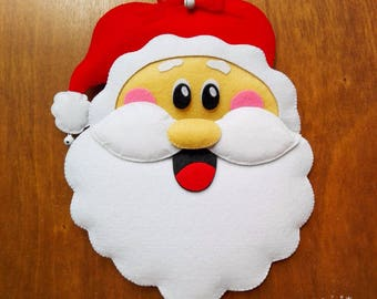 Christmas Santa claus Christmas decoration for Door