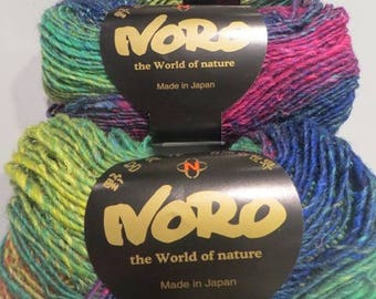 Wool Silk Garden of NORO, colour No. 362