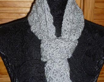 Shell scarf crochet pattern woman