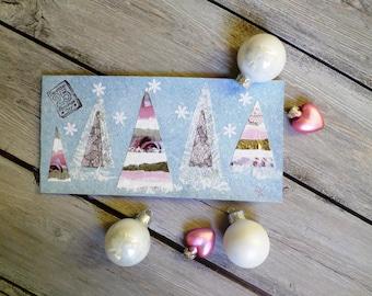 "Year end greeting card ""Christmas powder"""