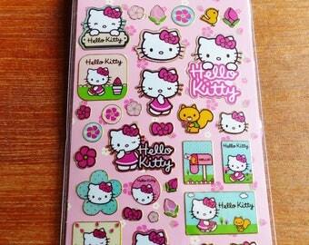 Hello Kitty Board fun foiled stickers mural stickers