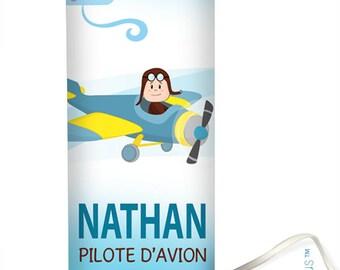 "Decorative lamp ""Pilot"" white background"