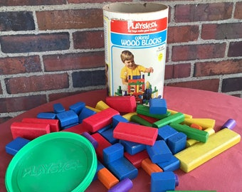 Vintage Playskool Popper 80s Preschool Toy Toy Carousel Ball
