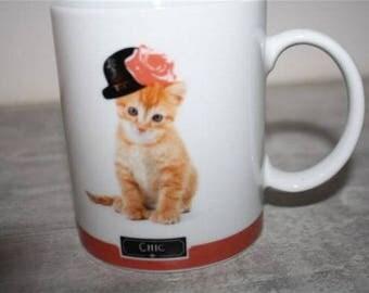 mug ceramic kitten
