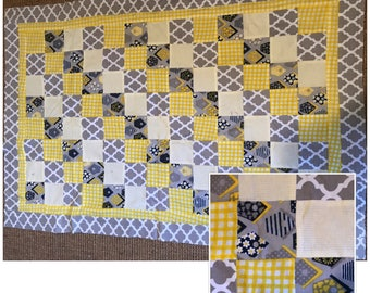 House Baby Quilt / Blanket