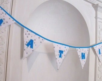 Flags personalized for your child's room decor