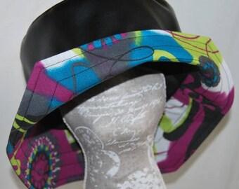 Black tag carressimo rain hat