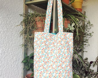 Two-sided Shopper/Tote bag/Shopping bag