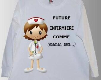NURSE personalized kids t-shirt