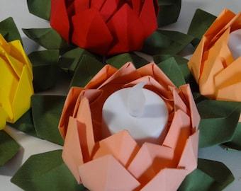 Decorative table Lotus origami
