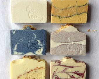 Giftboxed Natural Handmade Castile Soap