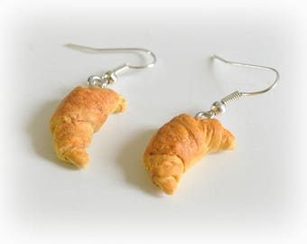 Fancy earrings • pastries • Crescent