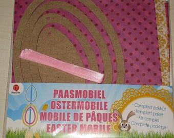 Complete kit Garland Easter eggs mobile