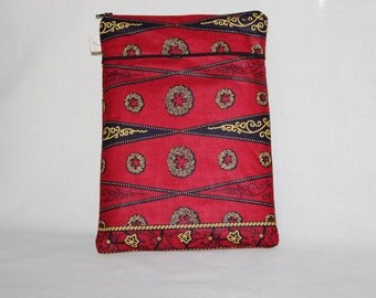 Tablet case made from African fabric - LYCORIS