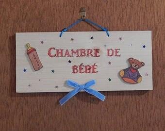 Decorative nursery door