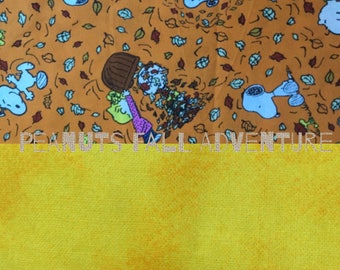 Peanuts Fall Adventures dog bandana