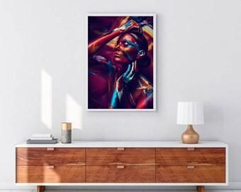 Lana - art print - poster - fine art - A1 - limited edition