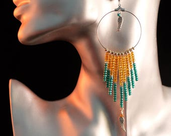new! stunning new Indian reflections earrings