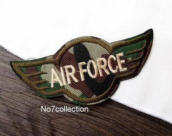 Air Force Embroidered Military Patch