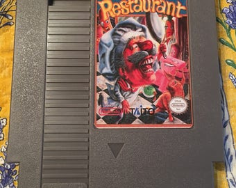 Panic Restaurant NTSC-U NES aka Nintendo Entertainment System *Repro cart only