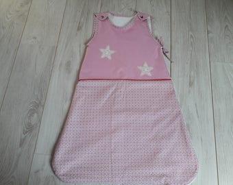 Sleeping bag or sleeping bag pink 6-12 months.