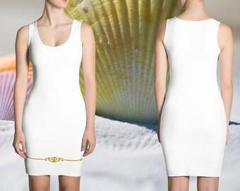 Goldierra Dress - Gold Noble