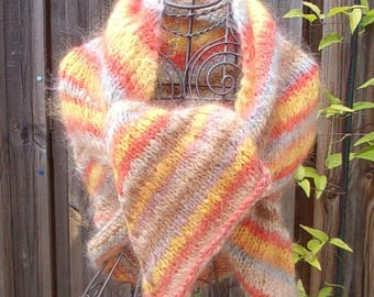 Woman wool shawl, shawl woolen scarf/shawl wool shawl, Stola