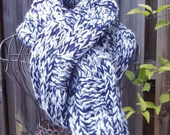 Wool scarf man or woman