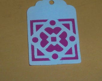 SCRAPBOOKING Lot Punch tag 3 color choice
