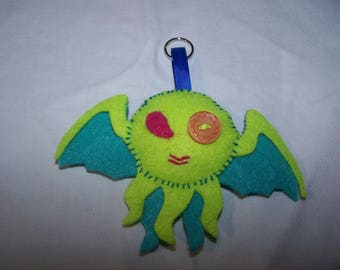 Door - key little monster felt designer trend jewelry