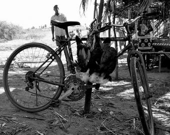 """Photography black and white: """"Beware of funeral"""" - Morondave, MADAGASCAR - 2015"""