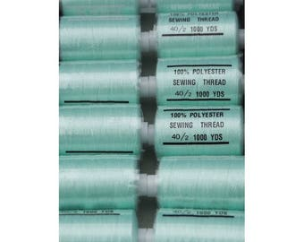 wire green water polyester 1000 yards 201/199