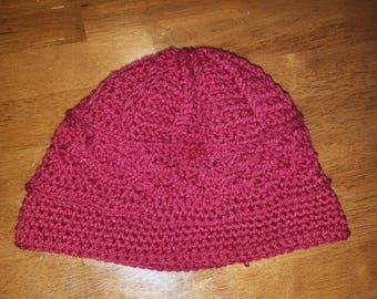 Adult crochet hat