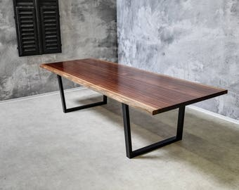 """Dining/Conference Table """"Minimalist"""" - Solid Wood - """"Mahogany"""""""