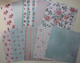 "assortment of paper sheets 15 cm x 15 cm collection ""dreams"""