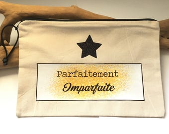 Perfectly imperfect! Bohemian spirit … clutch french handmade
