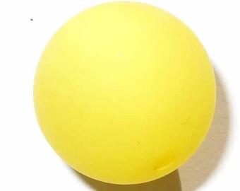 4 beads 14mm yellow polaris 4 beads